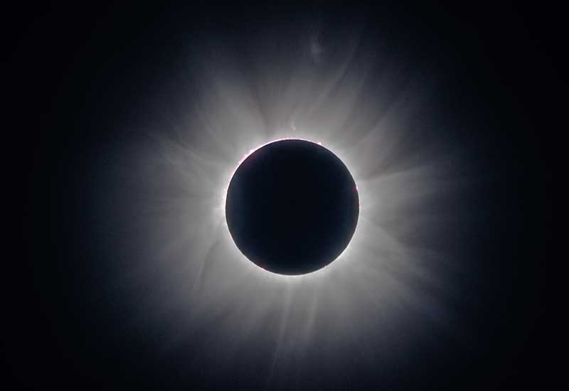 Total Solar Eclipse Imaged from Gabon