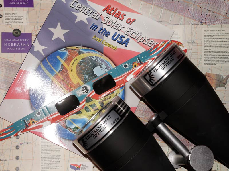 pair of 20x80 astronomy binoculars