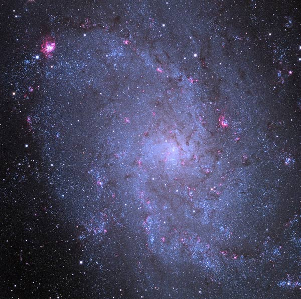 The Triangulum Galaxy, M33.