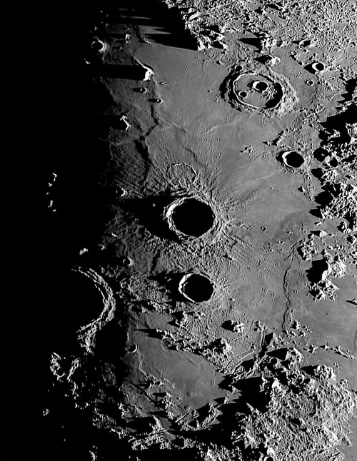 Crater Archimedes